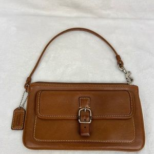Coach Leather Wristlet/Purse